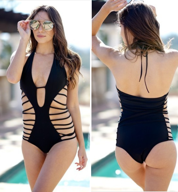Spider-Web Swimsuit