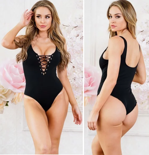 Lace Baywatch Babe Swimsuit