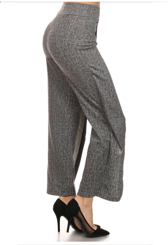 Women's Tweed Print Pants
