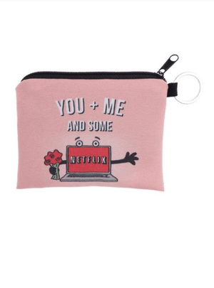 You + Me Netflix Cosmetic Print Pouch Wallet