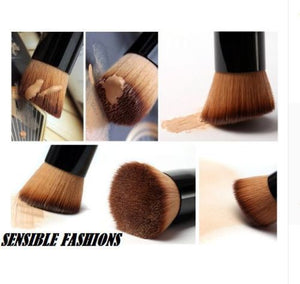 Natural Wooden Handle Cosmetic Makeup Brush
