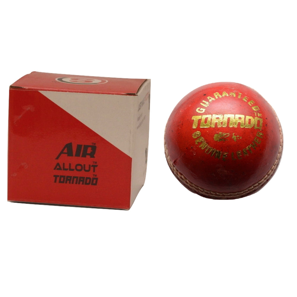 SO TORNADO LEATHER BALL- RED