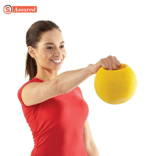 SO Power Medicine Ball Single Handle - 3 Kg - Shopping Outlet