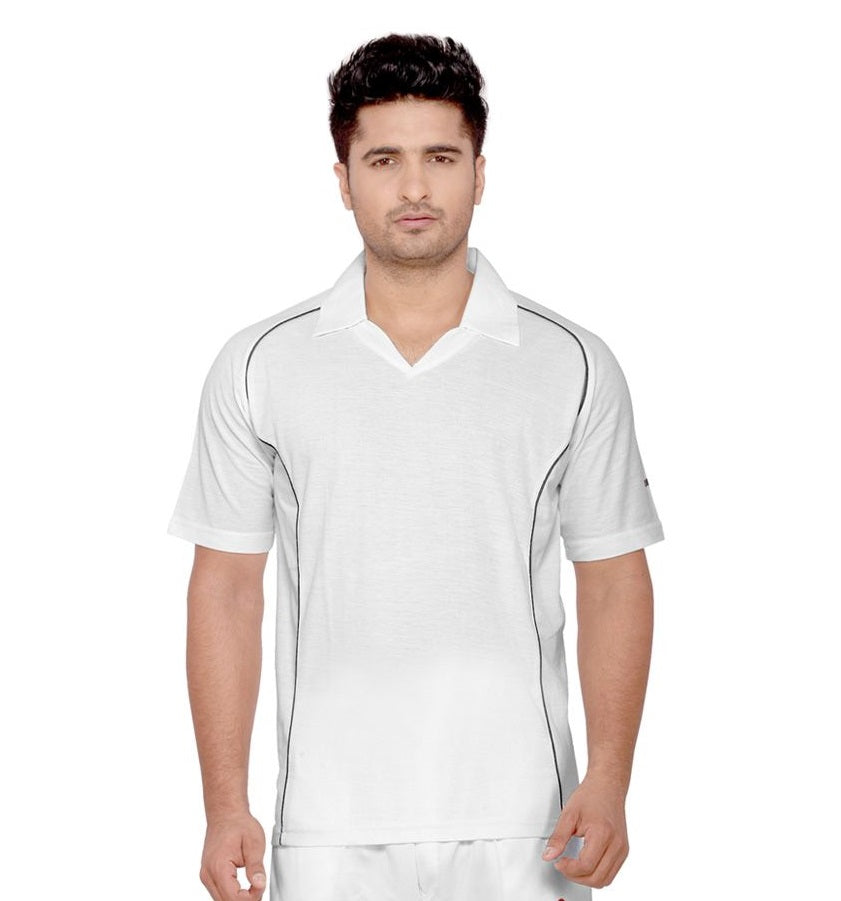 SO RACE CRICKET WHITE TSHIRT
