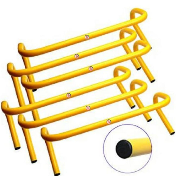 So Agility Hurdles For Field Training And Speed Coordination 12Inch (Set Of 6) Agility Hurdles