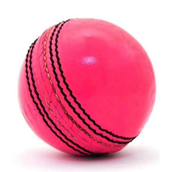 SO AIR LEATHER BALL - Re/Pink/Yellow/White Cricket Balls