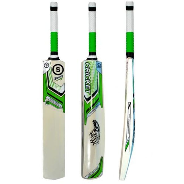 So Cricket Pro Green Selected Popular Willow Tennis Cricket Bat (Grip Color May Vary) Cricket Bat