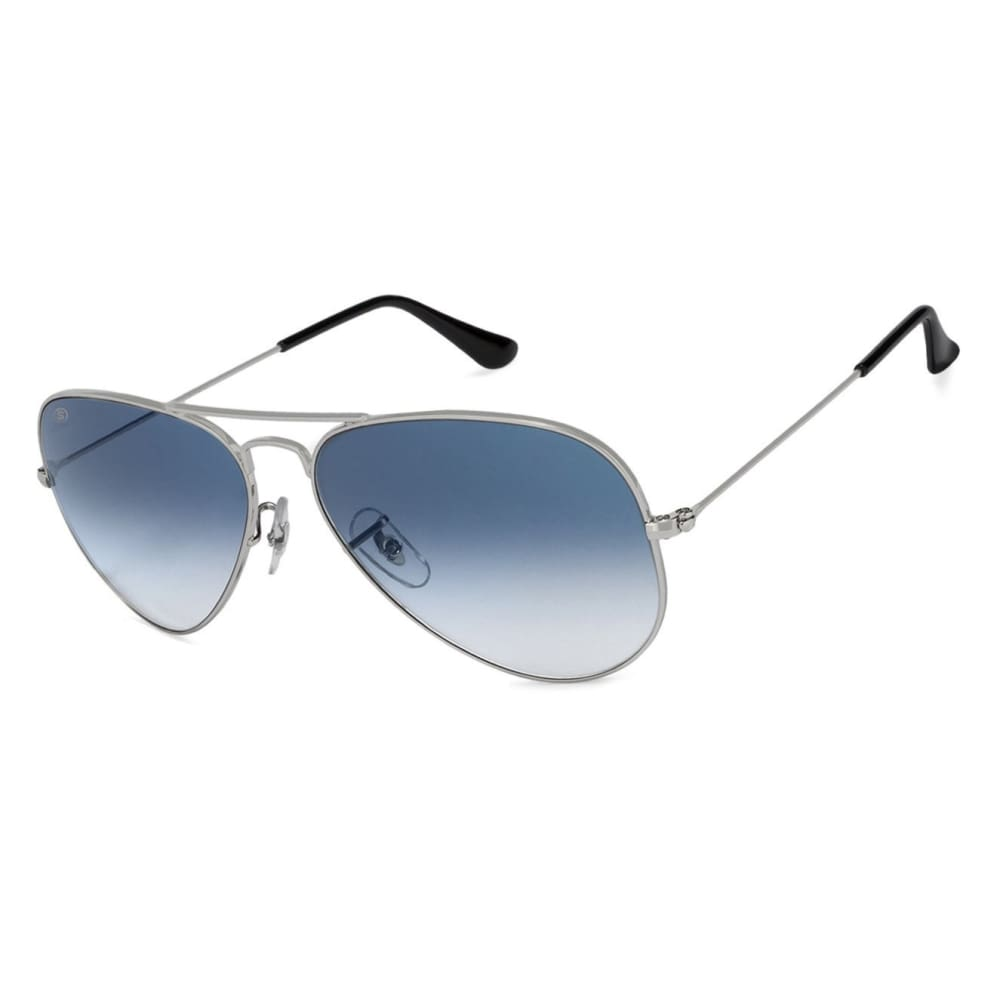 So Power Aviator Blue Grey Sunglasses (Unisex) Sunglasses