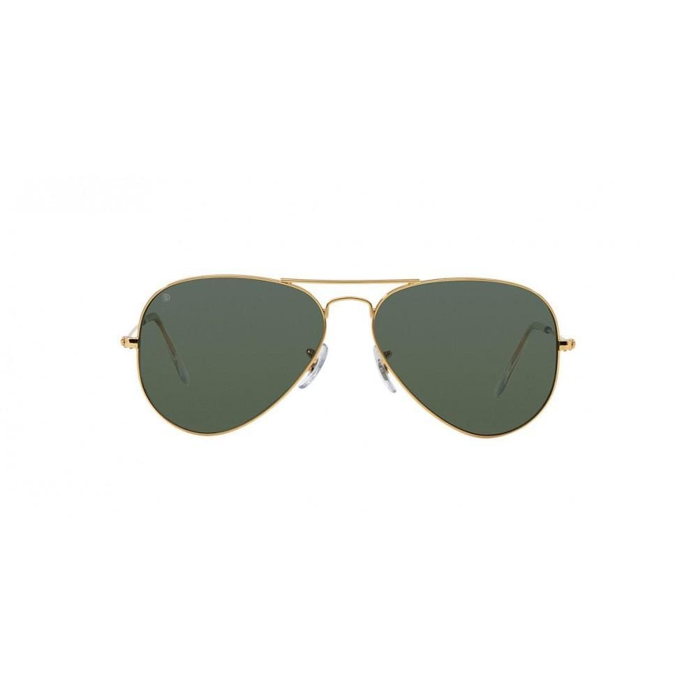 So Power Aviator Green Sunglasses (Unisex) Sunglasses