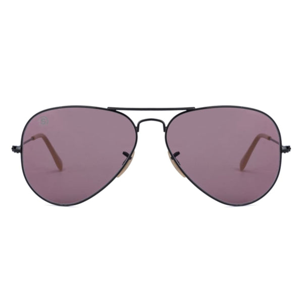 So Power Aviator Purple Sunglasses (Unisex) Sunglasses