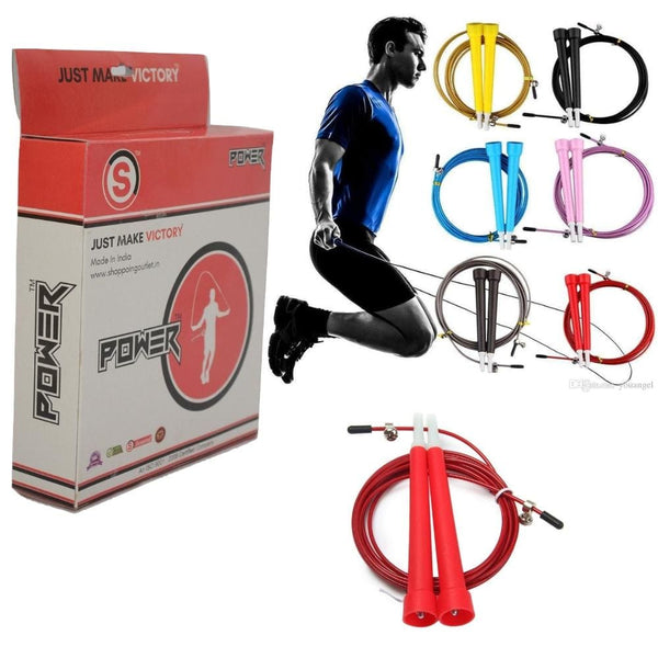 So Power Easily Adjustable Skipping Rope/speed Rope Fitness Equipments