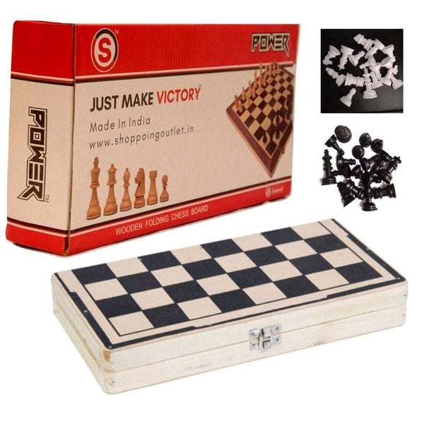 So Wooden Folding Chess Board Chess