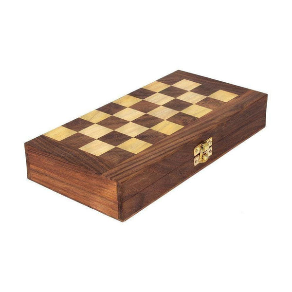 So Wooden Folding Chess Board Carrom Boards