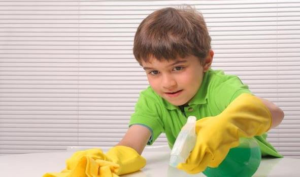 How to get kids involved in cleaning