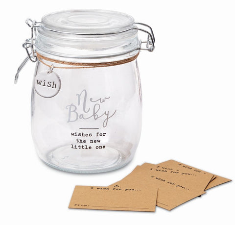 New Baby Wish Jar Set