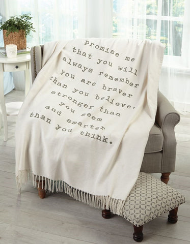 Pazitive Tassel Throw