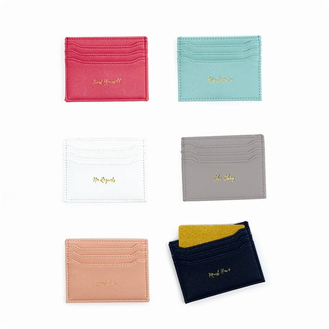 SAYINGS CREDIT CARD HOLDER