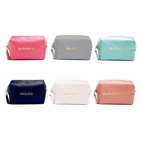 Sassy Sayings Rectangular Cosmetic Bag