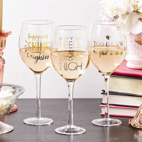 Go Glam Wine Glass