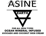 EARTH Avocado and Coconut Infused Ocean Mineral Skin Cream - Atomically Separated Inductive Natural Elements