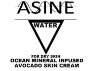 WATER Avocado Infused Ocean Mineral Skin Cream - Atomically Separated Inductive Natural Elements