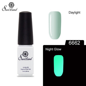 Fluorescent Luminous Neon Colors Nail Polish