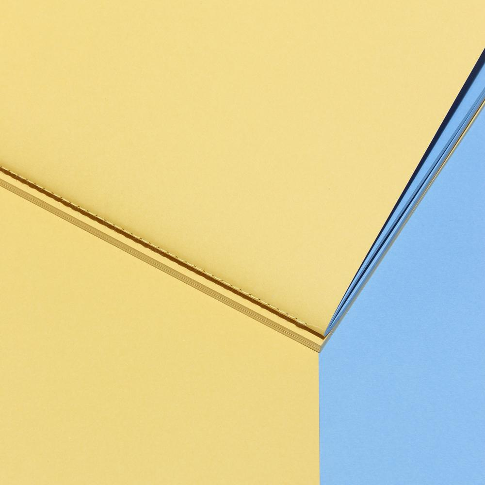 Twin-Note - PASTEL YELLOW | BLUE