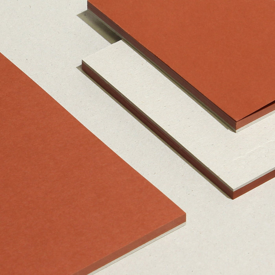 Slab | Tinted - RUST RED