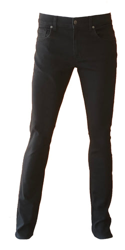 Mens Skinny Leg  in Black