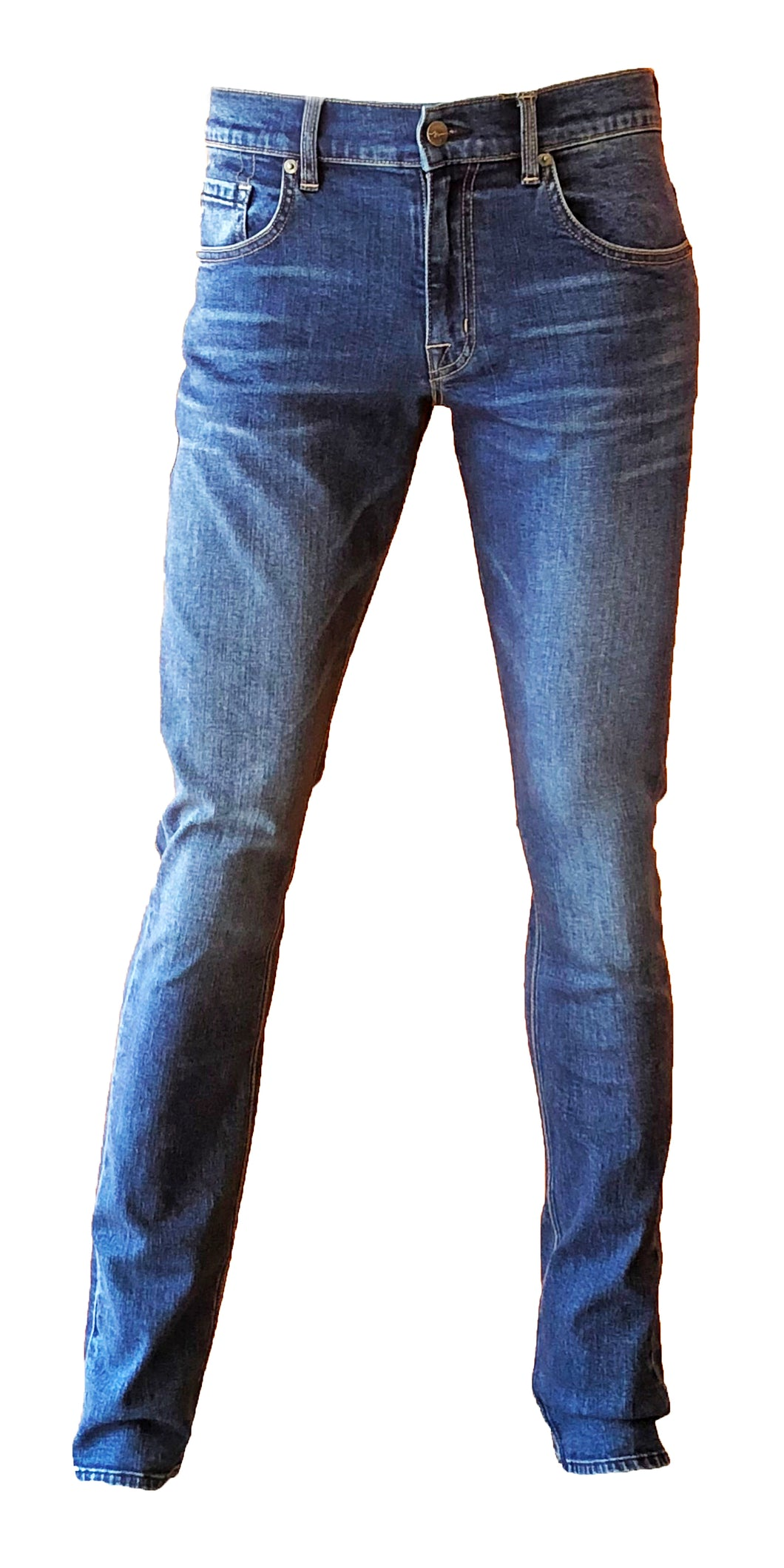 Mens Skinny Leg in Thunder
