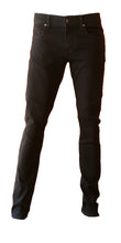 Mens Moto Skinny in Black