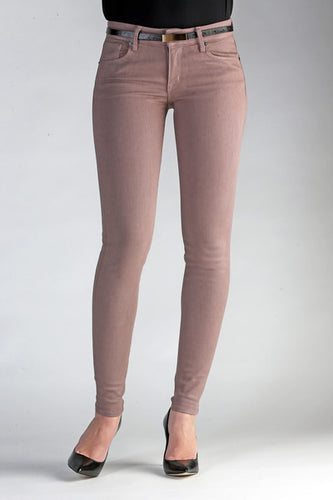 Skinny in Taupe Coated