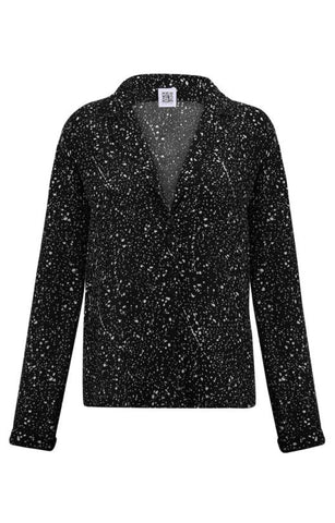 ELY Black Star Blouse