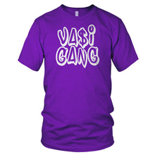 Vasi Gang T-Shirt (White Text) (Multiple Colors)