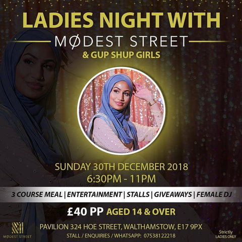 Ladies Night With Modest Street