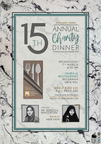 Kings ABSoc Annual Charity Dinner 2018