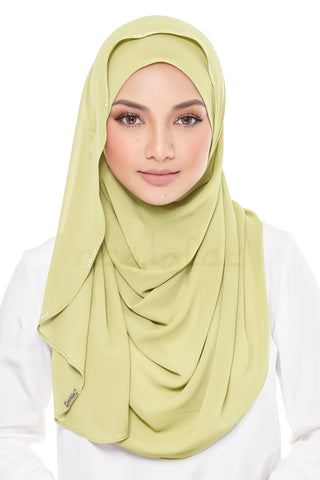 Annabelle Pale Olive Green