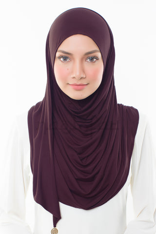Babes Basic - Dark Maroon