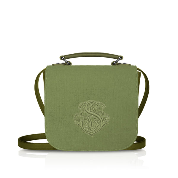 Flap Bag in Green