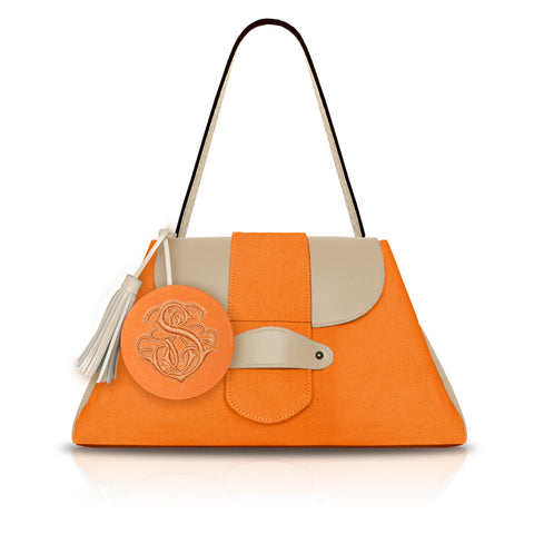 Classic Dual Flap in Orange