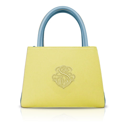 Mini Tote in Yellow