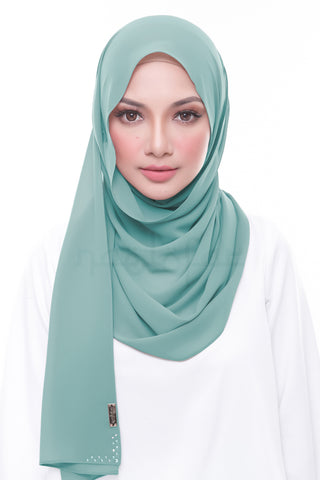 Miss Lofa Plain - Stone Blue