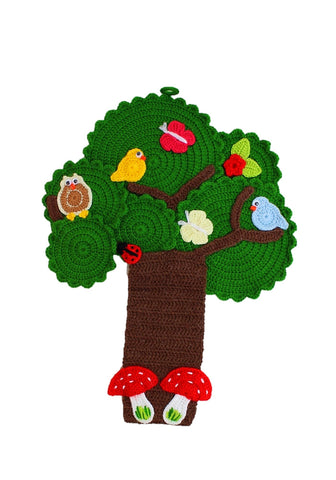 Crochet Tree Wall Hangings by OAK Charity