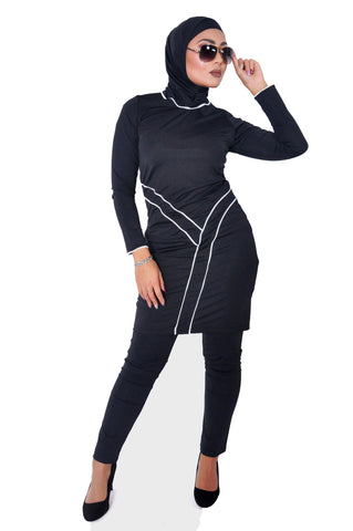 Burkini Jade Black