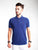 Slim Fit Pique Polo Shirt - Snorkel Blue