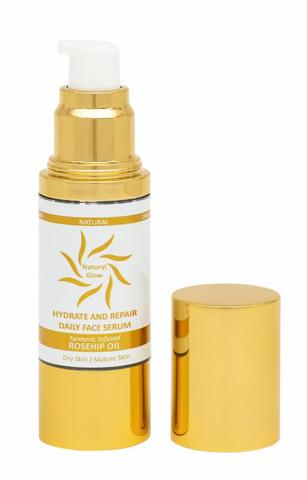 Hydrate and Repair Face Serum - Rosehip Oil
