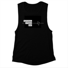 Women's National Fitness Day Muscle Tank