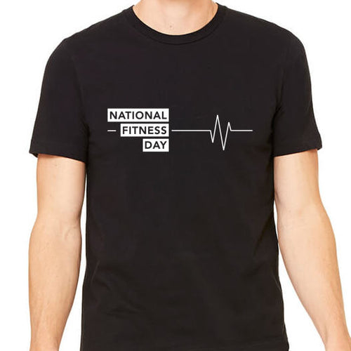 Unisex National Fitness Day Tee