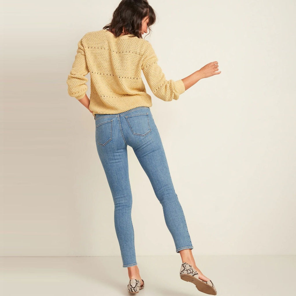 old nvy mid rise rockstar super skinny ladies jeans