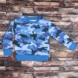 Brand TNT blue camo sweat shirt for kids (4444547809328)